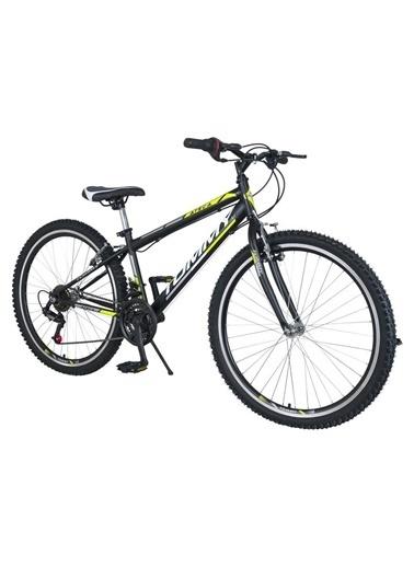 Tommy Bike 24 Double Jant 21 Vitesli Düz Kadro Dağ Bisikleti New Sarı